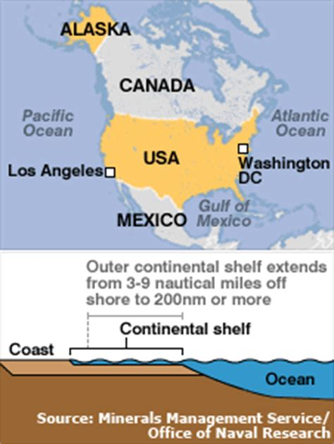 Outer Continental Shelf Drilling by News Americas Bush Calls For Offshore Drilling