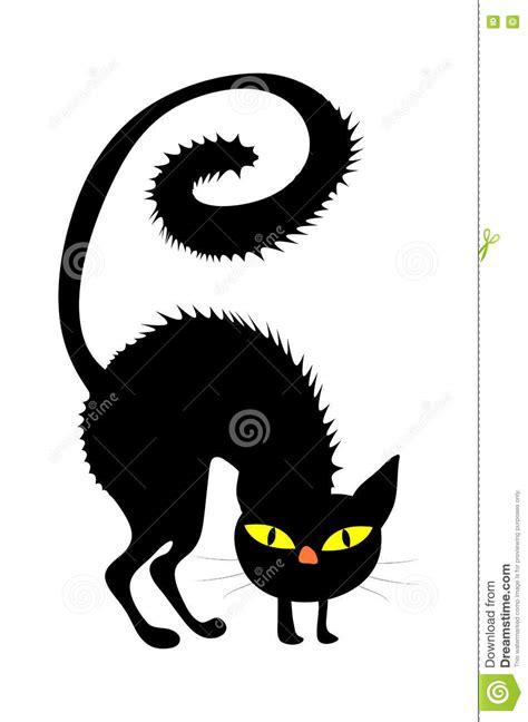 halloween creepy scary witches cat vector symbol icon