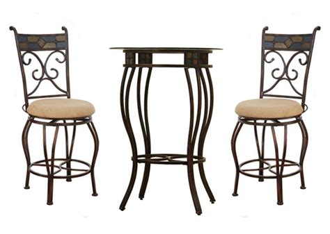 bar height table and chairs ideas for outdoor
