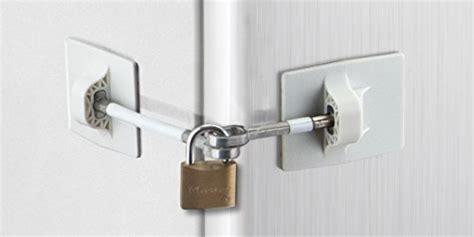 Refrigerator Door Locks by Refrigerator Door Lock Without Padlock White New