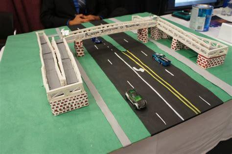 Design Engineer Major   civil engineering majors bridge the gap for pedestrians