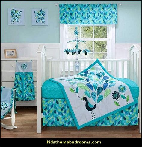 peacock crib bedding decorating theme bedrooms maries manor peacock theme