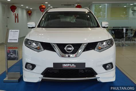 nissan malaysia nissan x trail impul edition launched from rm150k image