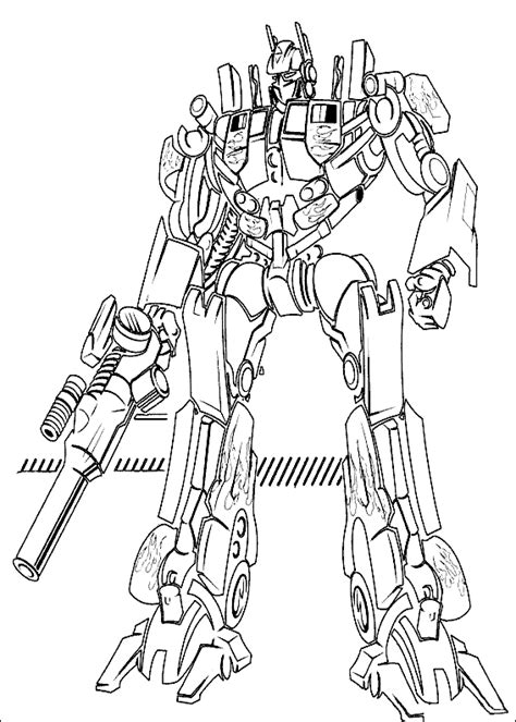 Transformers Coloring Pages Coloring Pages To Print Transformer Color Pages