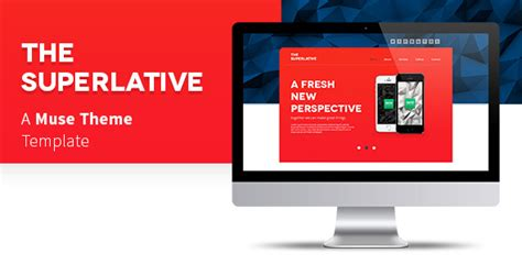 muse themes facebook preview the superlative muse template by tornadador themeforest