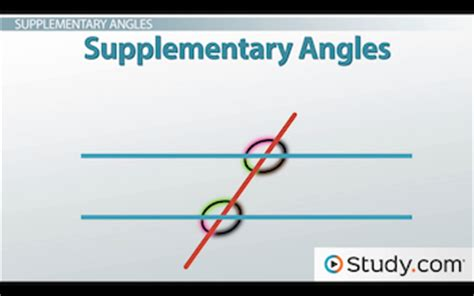 supplementary lines parallel lines how to prove lines are parallel