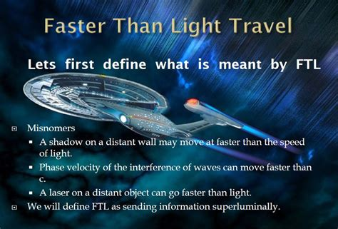 How To Travel Faster Than Light by Trek Warp Speed