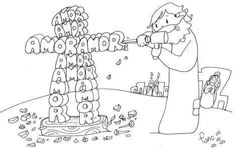 algunos dibujos de paxi fano para trabajar en cuaresma la catequesis el blog de sandra nuevo dibujo de fano