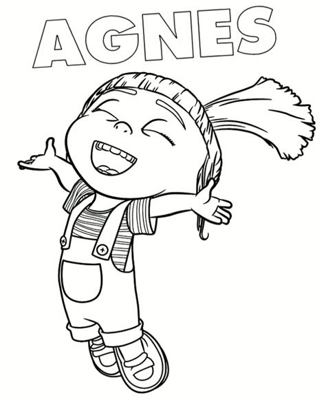 Minions Coloring Page 8 To Print Or Download For Free Coloring Pages Fall Season