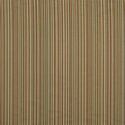 Teal And Brown Upholstery Fabric by Brown And Teal Thin Striped Upholstery Jacquard Fabric By