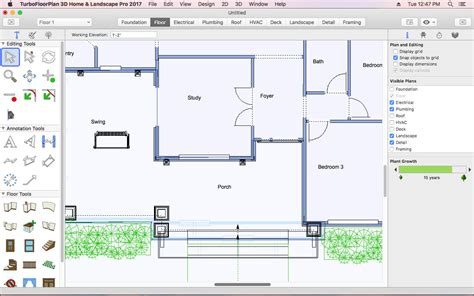 turbocad templates free app shopper turbofloorplan home and landscape pro 2017