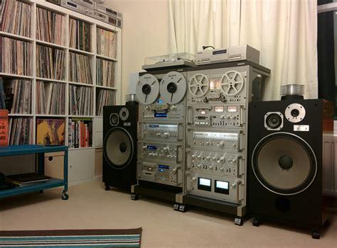 Vintage Audio Rack Pioneer Spec Blue Series Vintage Complete System With Pioneer Hpm 150 Audiophile Vintage