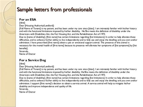 Letter For Emotional Support Animal On Airline Emotional Service Letter Anxiety