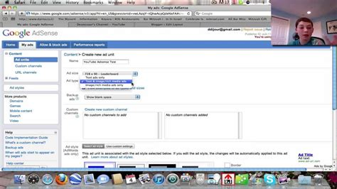tutorial youtube adsense full in depth adsense tutorial how to use ads on youtube