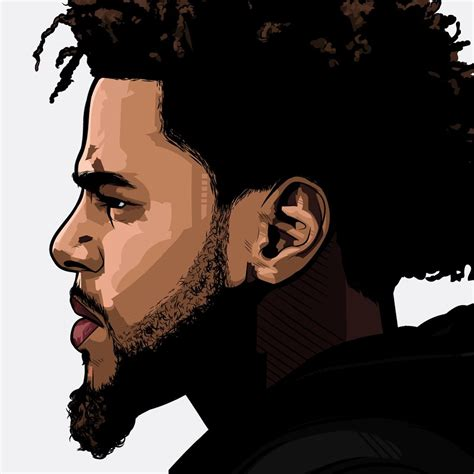 J Cole Drawing Easy by J Cole By Samona Lena Info Scaredofmonsters