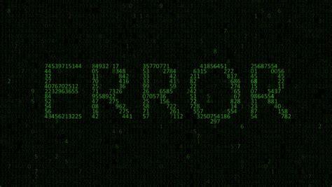 an error laptop wallpaper hexadecimal stock footage video shutterstock