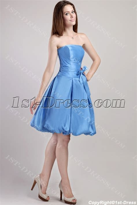 Blue Cute Short Quinceanera Dress 2310:1st dress.com