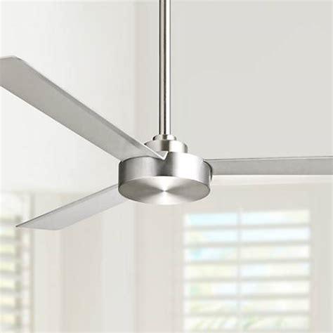 aluminum ceiling fan 52 quot minka aire roto brushed aluminum ceiling fan 6h282