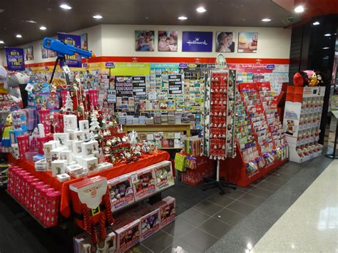 making the newsagency a destination for christmas shopping
