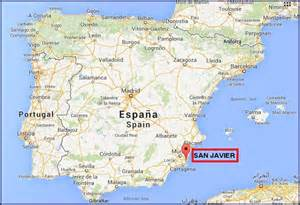 Google Map Spain by Street Map Of San Javier Murcia Spain Most Curious Map