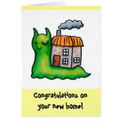 housesnail new home template greeting card zazzle
