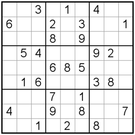 printable sudoku quizzes sudoku medium level printable www pixshark com images