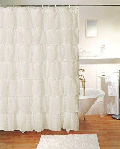 lorraine home fashions curtains lorraine home fashions gypsy ruffled shower curtain