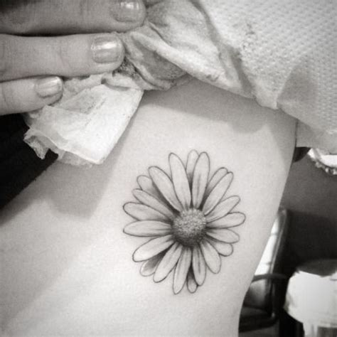 white daisy tattoo black and white www pixshark