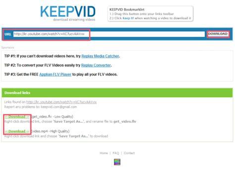 download youtube selain keepvid 유투브 동영상 다운로드 웹사이트 youtube download keepvid com 네이버 블로그