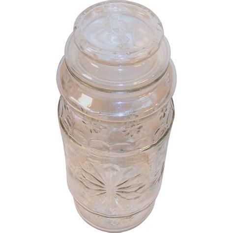 Vintage Planters Peanut Jar by Planters Nuts Vintage Mr Peanut Canister Jar 1980 From