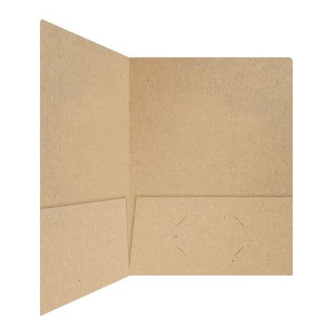 Paper Folder - folder design kraft recycled paper pocket folders by