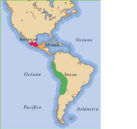imagenes aztecas mayas e incas cienciassocynat2015 mapa con la ubicaci 211 n de los aztecas