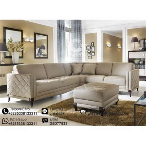 Daftar Sofa Sudut Minimalis set sofa sudut minimalis wamena createak furniture createak furniture