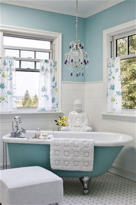 beach themed bathroom paint colors cuartos de ba 241 o vintage pompas de ideas