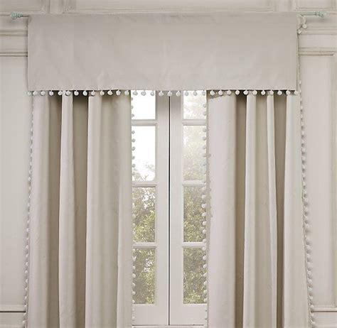 Pom Pom Trim Curtains » Home Design 2017