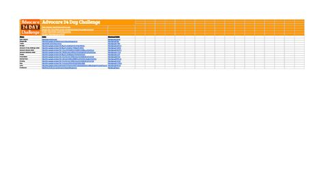 advocare 24 day challenge sheet advocare 24 day challenge links sheets