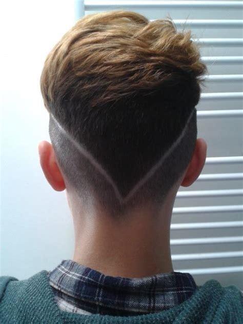 cortes de cabello con linea peinados con l 237 neas o rayas para hombres de peinados