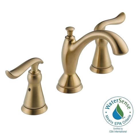 Linden Plumbing by Delta Linden 8 In Widespread 2 Handle Bathroom Faucet