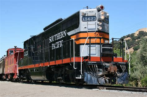 Niles Train Of Lights by Southern Pacific 5623 Niles Canyon Railway