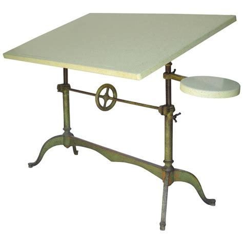 Antique Keuffel And Esser Drafting Table For Sale At 1stdibs Keuffel Esser Drafting Table