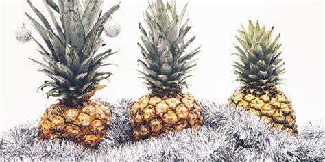 pineapple christmas trees is this year s quirkiest