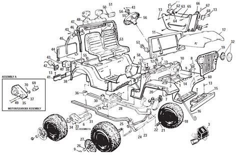Power Wheels Jeep Parts Power Wheels Jeep Laredo Parts
