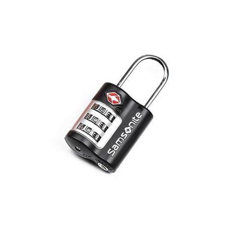 cadenas à code samsonite samsonite cadenas 224 combinaison tsa noir la boutique