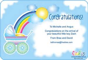 send congratulations baby boy e card images frompo