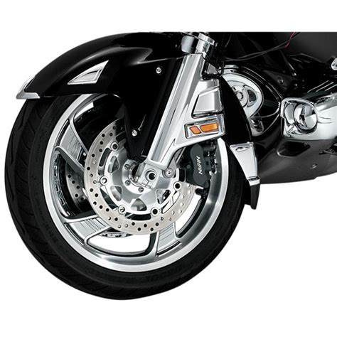 Chrome Front Wheel Spoke Covers for GL1800   Babbitts