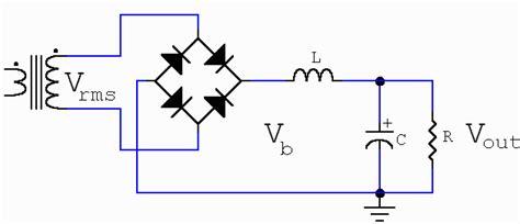 input inductor power supply resonant choke power supply