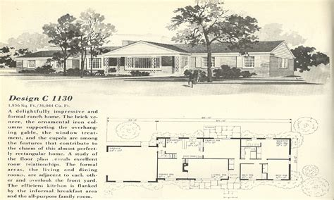 1960s ranch house plans california ranch style homes 1960s ranch house floor plans