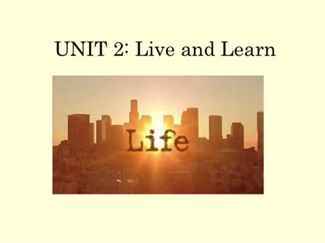 perfected understanding how to use money to live the of your dreams books unit 2 present live and learn