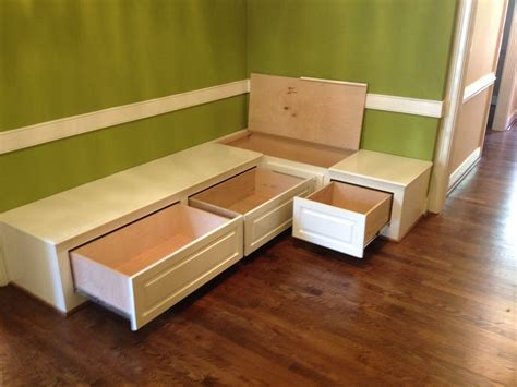 breakfast bench with storage dining room bench seating with hidden storage wood