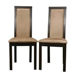 velvet upholstered dining chair set of contemporary dining set of 2 black brown elegant design pu leather